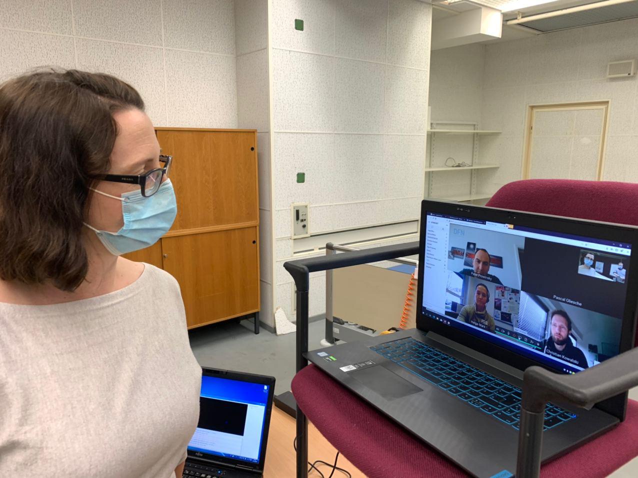 Virtuelles AG4-Treffen aus der MHH